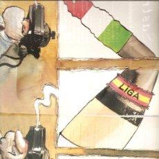 Coleccionismo: CARICATURA: REAL MADRID (GALLEGO Y REY) (11 MAYO 1997). Lote 29458636