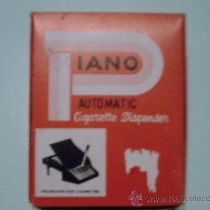 Collectionnisme: DISPENSADOR/PITILLERA DE CIGARROS EN FORMA DE PIANO 2 X 5. Lote 44049407