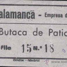 A os 50 entrada al cine emperador de madrid b vendido - Cuanto cuesta tapizar una butaca ...