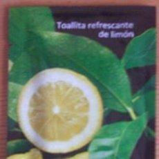Coleccionismo: TOALLITA REFRESCANTE DE LIMÓN. Lote 29683784