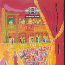 Coleccionismo: PROGRAMA DE ZARZUELA DEL TEATRO CAMPOAMOR DE OVIEDO 2001 - EL HUESPED DEL SEVILLANO. Lote 29717093