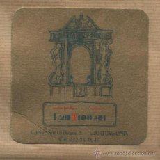 Coleccionismo: POSAVASOS CAFÉ ART L' ANTIQUARI - TARRAGONA.. Lote 55332480