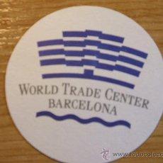 Coleccionismo: POSAVASOS WORLD TRADE CENTER BARCELONA. Lote 29923834