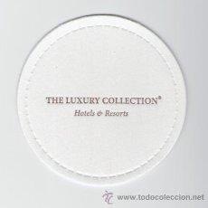 Coleccionismo: POSAVASOS THE LUXURY COLLECTION HOTELS & RESORTS - HOTEL - CADENA HOTELERA. Lote 30044545