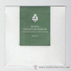Coleccionismo: POSAVASOS HOTEL GOLDENER HIRSCH SALZBURGO A LUXURY COLLECTION HOTELS & RESORTS. Lote 30044612