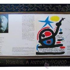 Coleccionismo: PORTADA MIRO- HOMENAJE ANTONIO MACHADO. Lote 30206819