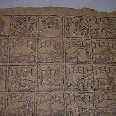 Coleccionismo: AUCA DE TOREROS..TOROS....AÑO 1830.....VENDESE EN LIBRERIA PIFERRER..PLAZA DEL ANGEL.. Lote 30617984