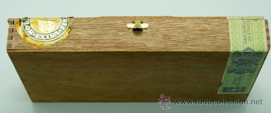 Coleccionismo: Caja puros Reig aromáticos Calypso madera - Foto 2 - 30629960