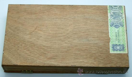 Coleccionismo: Caja puros Reig aromáticos Calypso madera - Foto 3 - 30629960