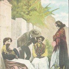 Coleccionismo: FACSIMIL. POSTAL MALAGA COSTUMBRES MALAGUEÑAS. LA OPINION. . Lote 30667966