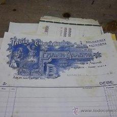 Coleccionismo: 1042.- MANRESA-LOTE DE MAS DE 60 DOCUMENTOS DE COMERCIOS DE MANRESA . Lote 31000662