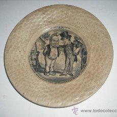 Coleccionismo: PLATO ANTIGUO DECORADO. Lote 31103798