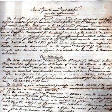 Coleccionismo: MÉRITOS Y CIRCUNSTANCIAS DE JOSÉ MARÍA ECHEGUIRINI, CONTADOR DE LA HACIENDA PÚBLICA, HUELVA 1890. Lote 31139337