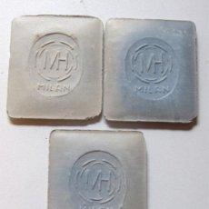 Coleccionismo: 3 MARCADORES PARA PATRONES / TELAS / MH / MILAN / SASTRERIA / CONFECCION - MODA / MODISTA. Lote 31237062