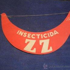 Coleccionismo: PUBLICIDAD INSECTICIDA ZZ.. Lote 31393160