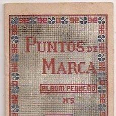 Coleccionismo: BORDADO: LIBRITO DE PUNTOS DE MARCA. Lote 31589817