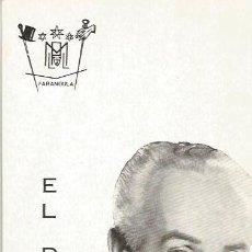Coleccionismo: ** PR884 - EL DUQUE - CON LETRA DE CANCION AL DORSO. Lote 31791022