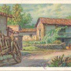 Coleccionismo: ** PA217 - HOJITA - BONITO PAISAJE. Lote 31795666