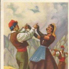 Coleccionismo: ** PA218 - HOJITA TAMAÑO POSTAL - SARDANA - CATALUÑA. Lote 31801900