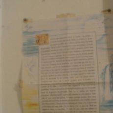 Coleccionismo: POSTER DESIDERATA - DE MAX HERMANN- TAMAÑO DINA-3 -REFM3E2. Lote 31840039