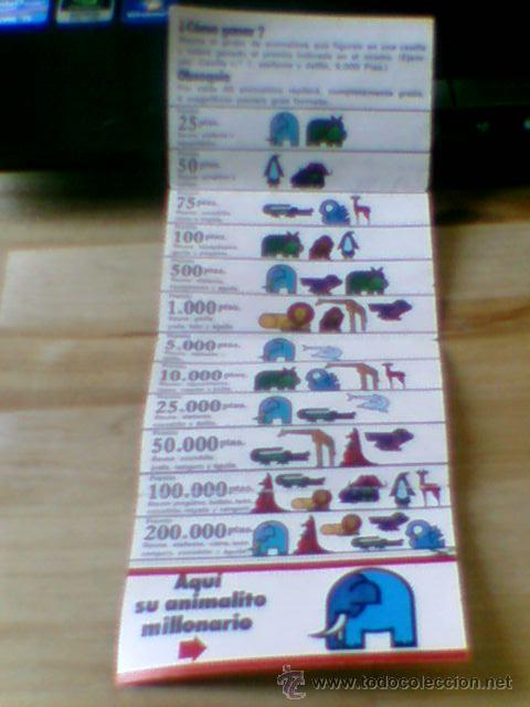 Coleccionismo: Reglamento y cupon pastelitos Ortiz año 72 - 73 Zoo Millonario - Foto 2 - 31906846