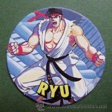 Coleccionismo: TAZO Nº4 STREET FIGHTER II – RYU. Lote 31919550