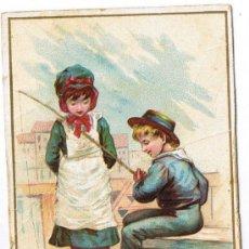 Coleccionismo: ANTIGUA TARJETA PUBLICITARIA - CHOCOLATES DE JAIME BOIX - BARCELONA. Lote 32211542