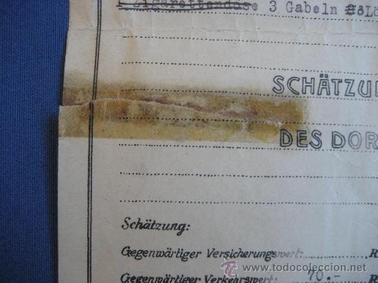 Coleccionismo: DOCUMENTO ORIGINAL ALEMANIA WW2 100 %100 AUTÉNTICO NSDAP - Foto 4 - 32237678