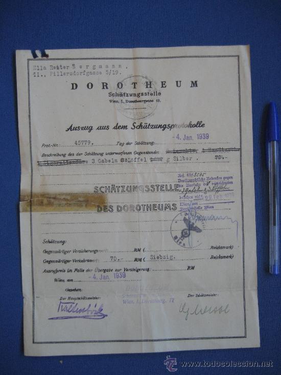 Coleccionismo: DOCUMENTO ORIGINAL ALEMANIA WW2 100 %100 AUTÉNTICO NSDAP - Foto 5 - 32237678