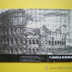 Coleccionismo: ENTRADA COLISEO ROMA + PALATINO. PARA 2 PERSONAS AÑO 2003. Lote 32450427