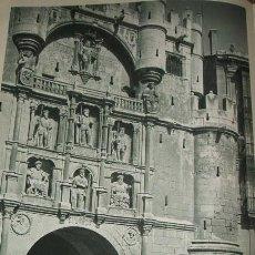 Coleccionismo: BURGOS ARCO DE SANTA MARIA HUECOGRABADO AÑOS 40. Lote 32520411