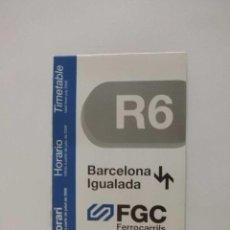 Horarios tren fgc a o 2006 linea barcelona saba comprar for Horario bricomart sabadell