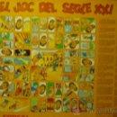 Coleccionismo: JUEGO DE LA OCA.- EL JOC DEL SEGLE XXI.- ESQUERRA REPUBLICANA. Lote 32827891