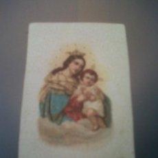 Coleccionismo: ANTIGUA ESTAMPITA RELIGIOSA NTRA. SRA. DEL REFUGIO. Lote 32997894
