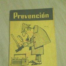 Coleccionismo: ASOCIACION PARA LA PREVENCION DE ACCIDENTES.ENTIDAD ASOCIADA MUTUALIDAD CARBONERA DEL NORTE.AÑO 1961. Lote 33005593
