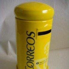 Coleccionismo: HUCHA DE CORREOS METAL -NUEVA. Lote 44370961