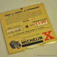 Coleccionismo: OBJETO PARA DEJAR EN EL VEHÍCULO PARA INDICAR LA HORA DE LLEGADA. Lote 33184734