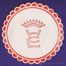 Coleccionismo: POSAVASOS - HOTEL CL - SE DESCONOCEN DATOS / SE AGRADECE INFORMACION - PAPEL - AÑOS 60 / 70. Lote 33375133