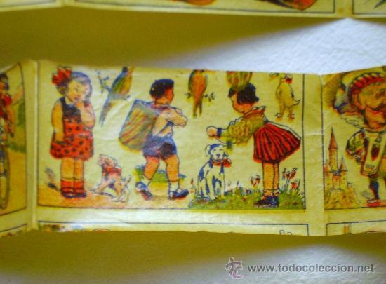 Coleccionismo: LOTE TRES TIRAS CALCOMANÍAS FANTASÍA - PRINCIPIOS S. XX - - Foto 3 - 33403447