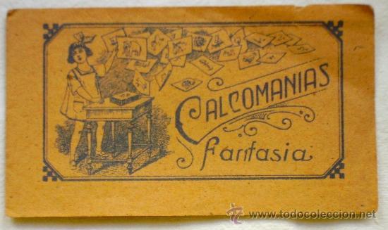 Coleccionismo: LOTE TRES TIRAS CALCOMANÍAS FANTASÍA - PRINCIPIOS S. XX - - Foto 5 - 33403447