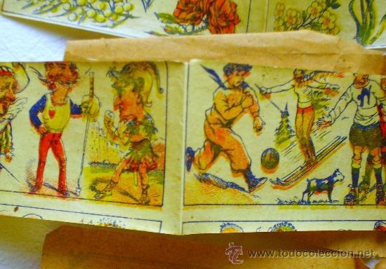 Coleccionismo: LOTE TRES TIRAS CALCOMANÍAS FANTASÍA - PRINCIPIOS S. XX - - Foto 6 - 33403447
