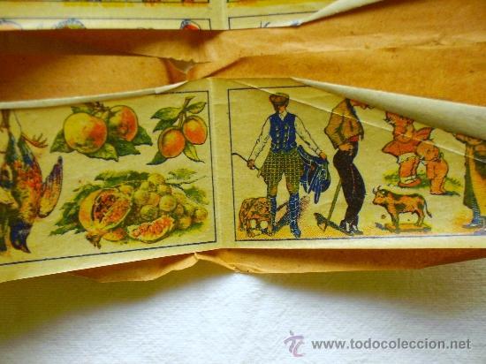 Coleccionismo: LOTE TRES TIRAS CALCOMANÍAS FANTASÍA - PRINCIPIOS S. XX - - Foto 8 - 33403447