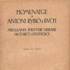 Coleccionismo: RELACIONS DEL PAPA PIUS II AMB JOAN II D'ARAGÓ I ELS CATALANS. Lote 33407153