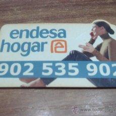 Coleccionismo: CHAPA ADHESIVA.-ENDESA HOGAR.-6X3CTMS.-. Lote 33625979