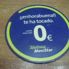Coleccionismo: CHAPA ADHESIVA.-TELEFONIA MOVISTAR.-6X6CTMS.-. Lote 33626002