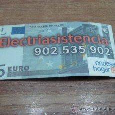 Coleccionismo: CHAPA ADHESIVA.-ELECTRIASISTENCIA.-ENDESA HOGAR.-8X4CTMS.-. Lote 33626188