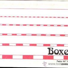 Coleccionismo: PUB BOXES.DIPTICO.INVITACIÓN FIESTA DE HOLLYWOOD. ZARAGOZA. 15 X 10 CMTRS.. Lote 34009490