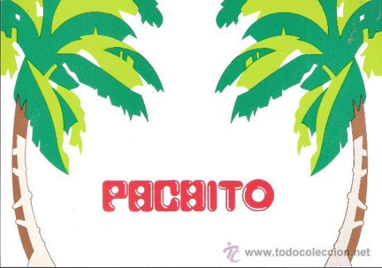 Pachito Pub Tarjeta Invitación Fiesta Inauguración Pacha Zaragoza