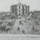 Coleccionismo: LITOGRAFIA ANTIGUA LUSEMBURGO DESSINE PAR COURVOISIERS. Lote 34188837