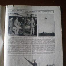 Coleccionismo: AVIACION - BARCELONA - RECORTE DE PRENSA. Lote 34283417